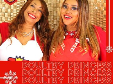 Holiday Greeting Poultry Princess